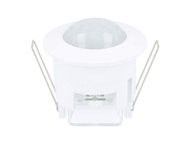 Bewegingsmelder, plafond inbouw, detectiehoek 360°, IP20  ledlampdirect