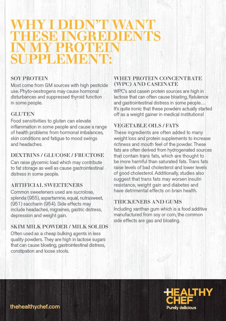 WHY I DIDN'T WANT THESE INGREDIENTS IN MY PROTEIN SUPPLEMENT: http://www.thehealthychef.com/2013/02/why-i-didnt-want-these-ingredients-in-my-protein-supplement/