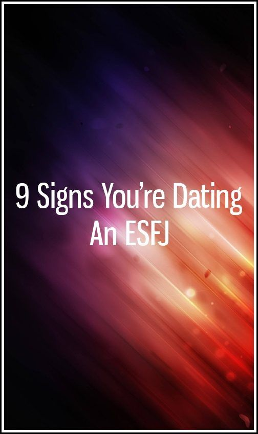 dating an esfj personality type