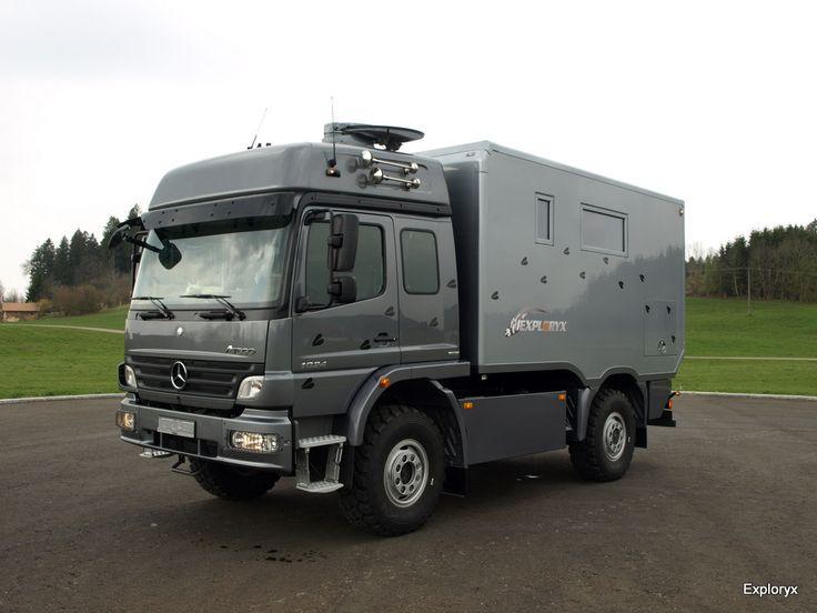Atego Expeditionsmobil für die ganze Familie - Bildergalerie   Exploryx Expeditionsfahrzeuge