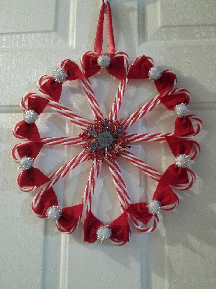 how to make candy wreaths with snickers