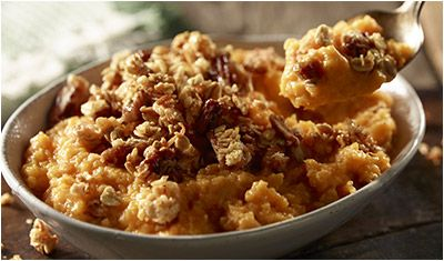 LongHorn Steakhouse Recipe For Their Pecan Praline Sweet Potato Casserole!