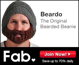 Can't believe this is a real product!  A 'Beanie' hat with a BEARD attached. Instant beard for winter or armed robbery?