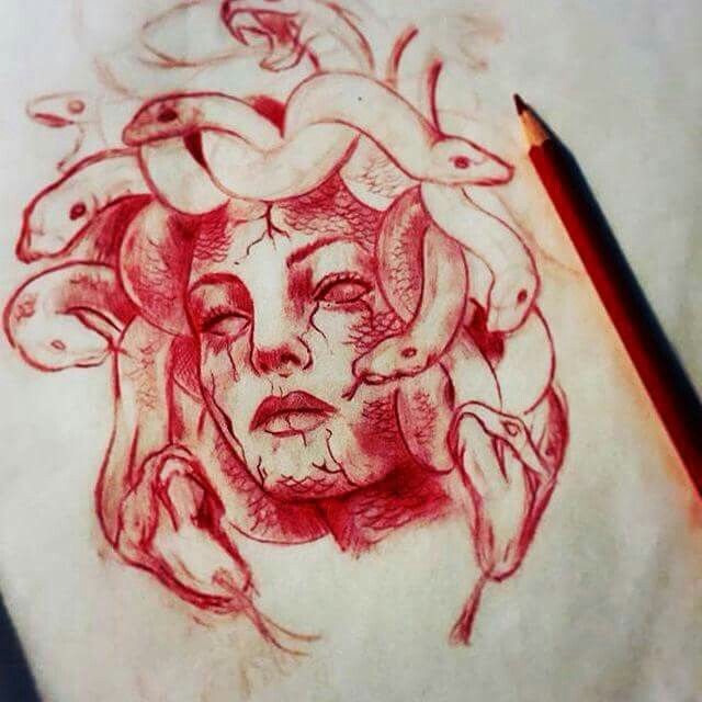 Medusa Tattoos .
