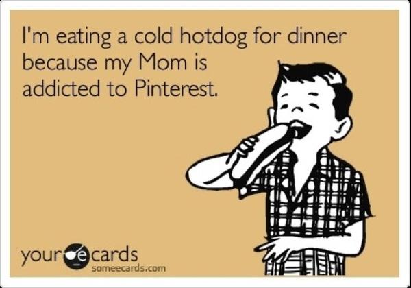 ketchup's in the fridge, honey!