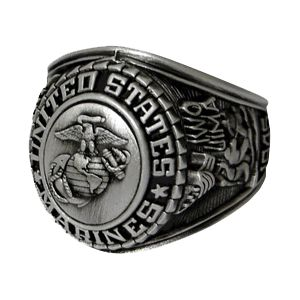 Marine Corps Insignia Ring….perfect gift for your Marine, a Marine supporter, or a treat for yourself! EGAshop.com!