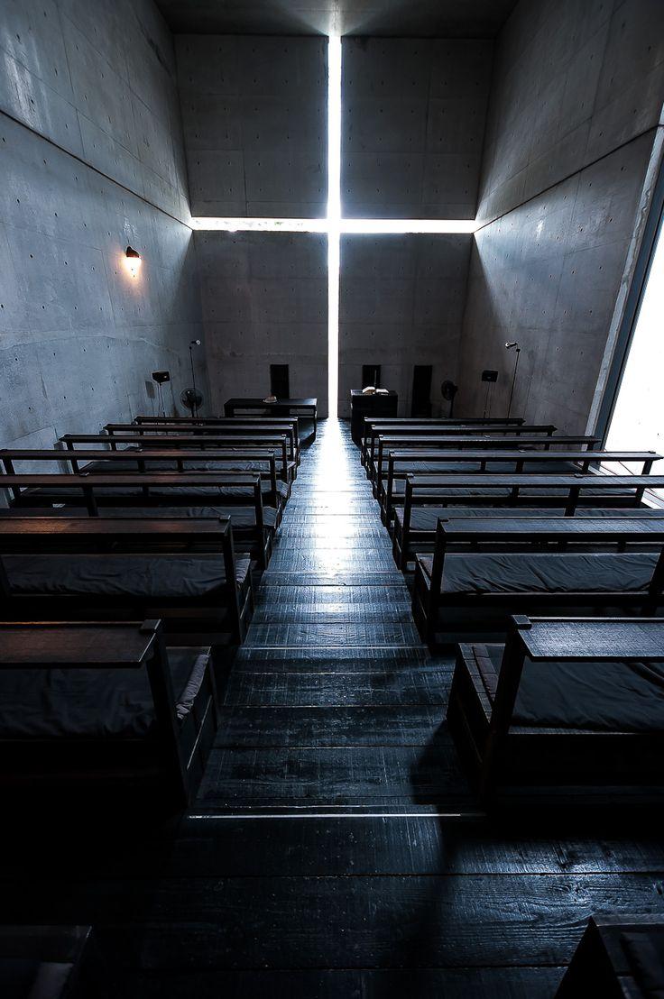建築:安藤忠雄 http://ibaraki-kasugaoka-church.jp/