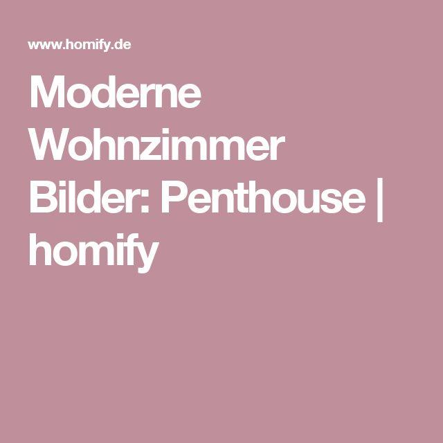 Moderne Wohnzimmer Bilder Penthouse