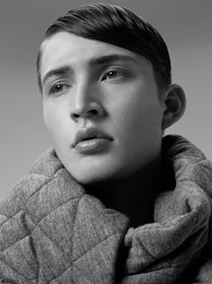 HAIR: AIDEN XYDIS @ VALONZ    Photography: Hannah Scott Stevenson  Makeup: Constance Bowles   Styling: Kelvin Harries @ The Artist Group  Model: Elijah Tydemers @ Priscilla's