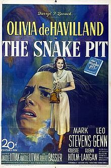 The Snake Pit is a 1948 American drama film directed by Anatole Litvak.[1][2] The film tells the story of a woman who finds herself in an insane asylum and cannot remember how she got there, and stars Olivia de Havilland, Mark Stevens, Leo Genn, Celeste Holm, Beulah Bondi, and Lee Patrick.
