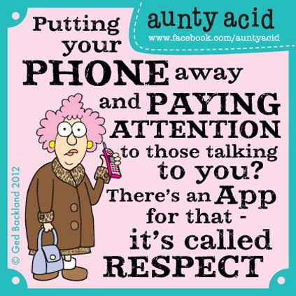 We live in an era of smart phones and dumb freakin' people! Here's a posting for my fans with young...