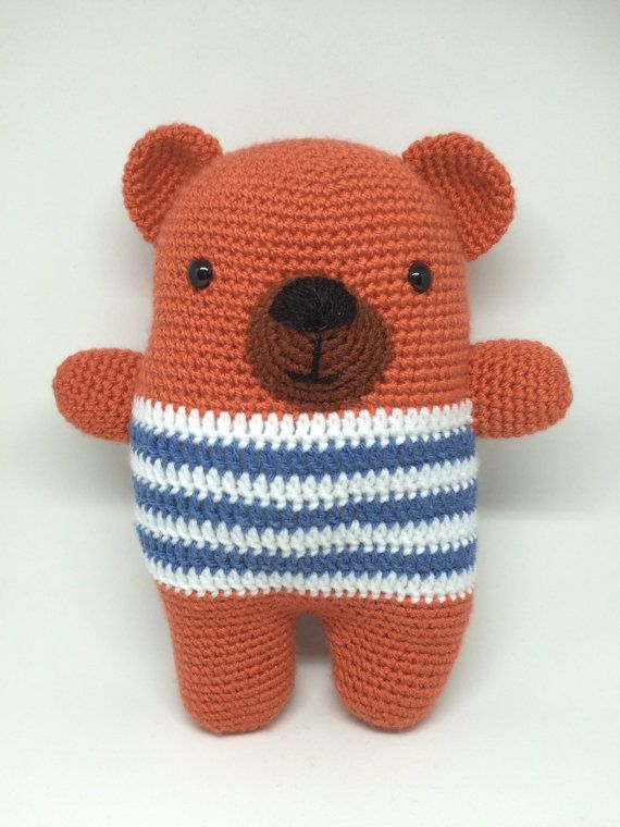 Cuddle bear by Fonky Crochet - now available at her Etsy Shop
