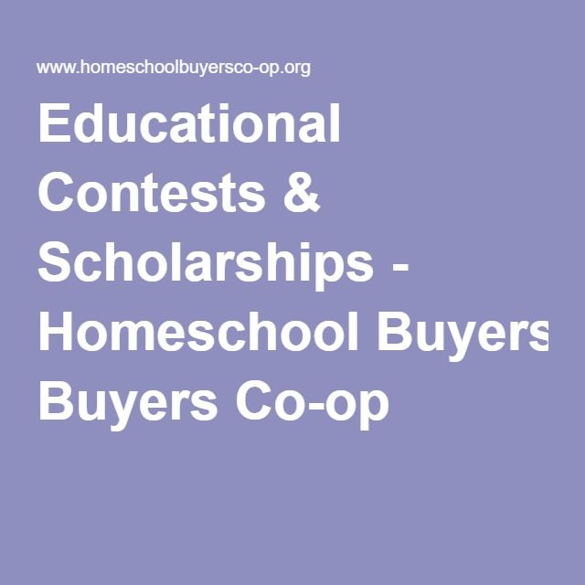 Amazing college scholarships which are available to homeschoolers 1-10