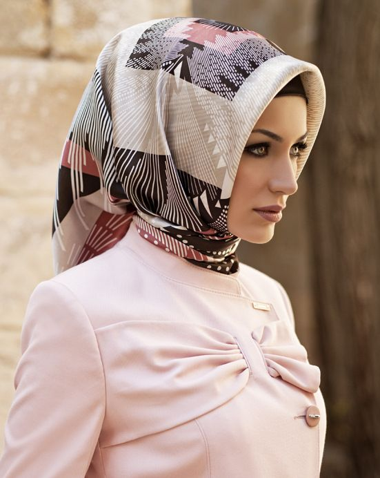 if only I could get my hijab to stay put like this :)