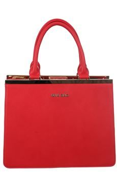 #borsa in ecopelle, chiusura a borsello con laccio interno #miabag #rosso #fashion #moda #bforeshop