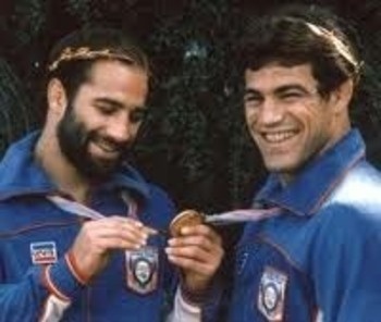 Dave & Mark Schultz- Olympic & World Freestyle Wrestling Champions Chan isn't Mark Schultz who you're RolevPlaying?