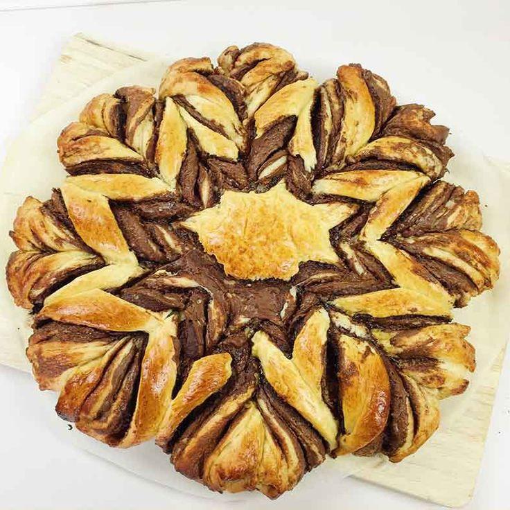 Nutella-Blume aus Brioche von CookBakery