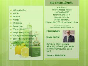 Reg-Enor Est - Dióskál - 2017.05.13-án du. 16.00 Zalaegerszegtől 35 km