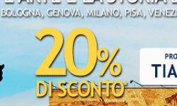 Airone offre codice sconto del 20% su tutti i voli da/per Tirana. Periodo di volo dal 4 marzo al 13 aprile.