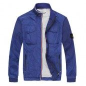 Garment-Dyed Membrana TC Light Jacket In Bright Blue -- Cheap Stone Island - Sale: up to an Extra 40% off?