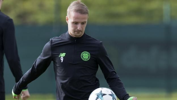 Leigh Griffiths has five goals so far for Celtic this season, including one in Europe BBC coverage  How to follow: Listen on BBC Radio Scotland 810MW/DAB/online; text commentary on the BBC Sport website  Celtic manager Brendan Rodgers says Leigh Griffiths is available for Tuesday's...