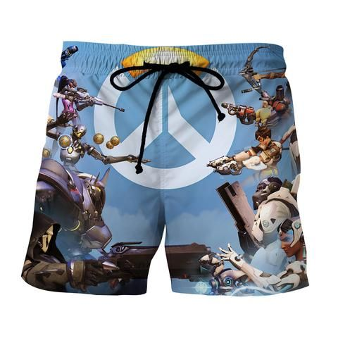 Overwatch Symbol Logo Heroes Fighting Cool Game Theme Shorts  #Overwatch #Symbol #Logo #Heroes #Fighting #Cool #Game #Theme #Shorts