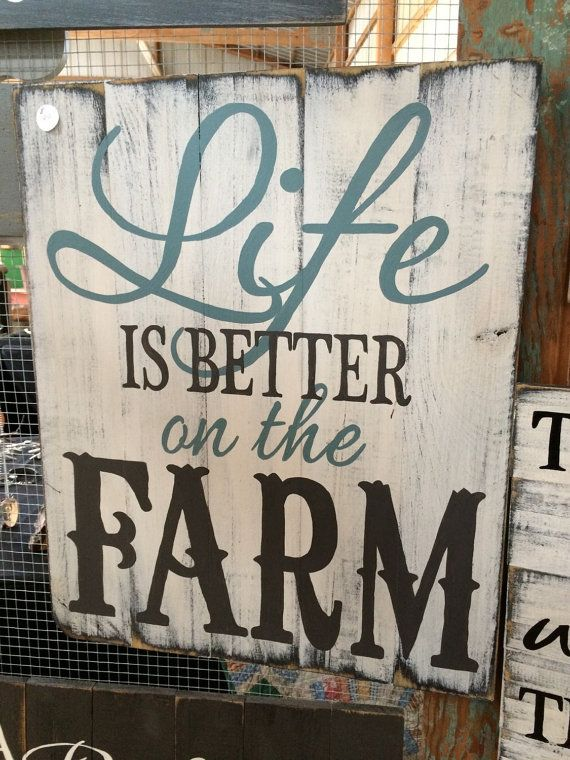 Big farm? Little farm? Show everyone how proud you are to be a farmer. This sign will do just that. This beauty is 21wide x 24 tall and is available in…