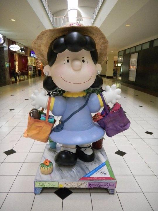 Lucy at Santa Rosa Plaza
