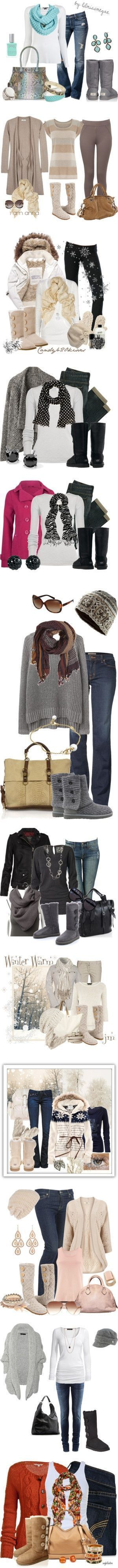 It's the first day of winter and what could be a better way to beat the cold temperatures than a cozy pair of everyone's love at winter - Ugg boots