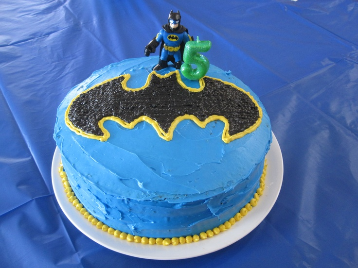 Batman Th Birthday Cake