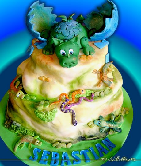 LORENA MEINERO | Tortas DecoradasDecorated For, Tortas Decoradas, Dragons Cake, Cake Decor, Rich Things, Dino Parties, Cake Birthday, Birthday Cake, Dinosaurs Cake