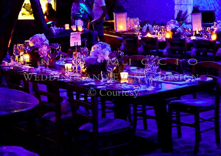 Wedding in Ischia #wedding #ischia #weddingplanner #weddingdress #enzomiccio #weddingcake #magicatmosphere #sea #blue #candles
