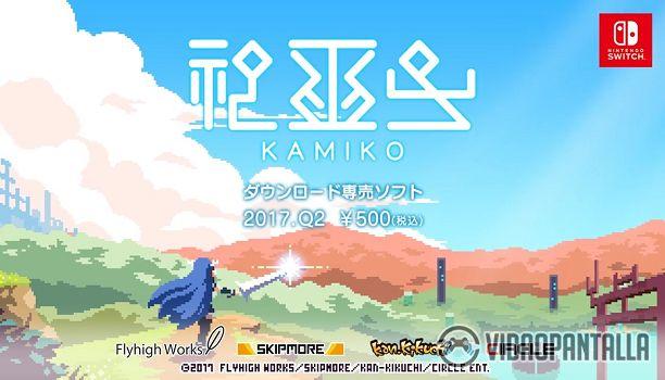 Kamiko es uno de los últimos juegos deKan-Kikuchi y Skipmore los desarrolladores de juegos como Fairune y Fairune 2. Se trata de un juego de acción RPG que recuerda bastante al género hack n slash y que ya se encuentra disponible en inglés desde la e-Shop japonesa.  Sin embargo no tenemos que esperar mucho más ya que Circle Ent. ha confirmado que el título saldrá a la venta el próximo 27 de abril en las e-Shop europeas de Nintendo Switch. El juego tendrá un precio de 499 y pesará unos 112Mb…
