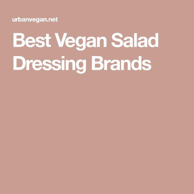 Best Vegan Salad Dressing Brands