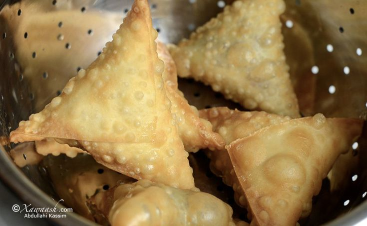 Samosa Pastry Dough.  Step by step.  Very good directions.