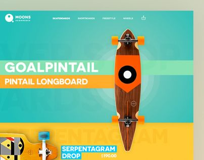 Skateboard website