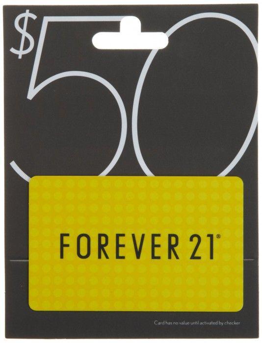 Forever 21 Gift Card   Giftsoul