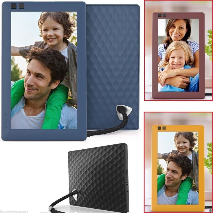 Electronic Picture Frame WiFi Digital Photo Frames 7 inch Nixplay Seed Best Gift #Nixplay