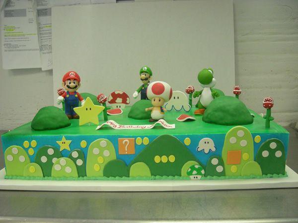 mario party sheet cakes - Google Search