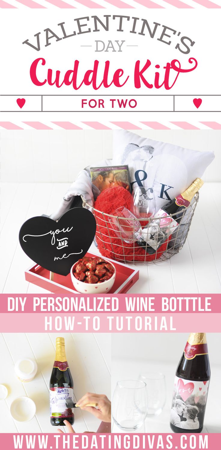 LOVE this Valentine's Day cuddle kit for two! www.TheDatingDivas.com
