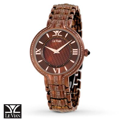 Le Vian Women S Watch Chocolate Rotondo Ii Zlpc 2