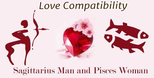 relationship between a pisces man and sagittarius woman