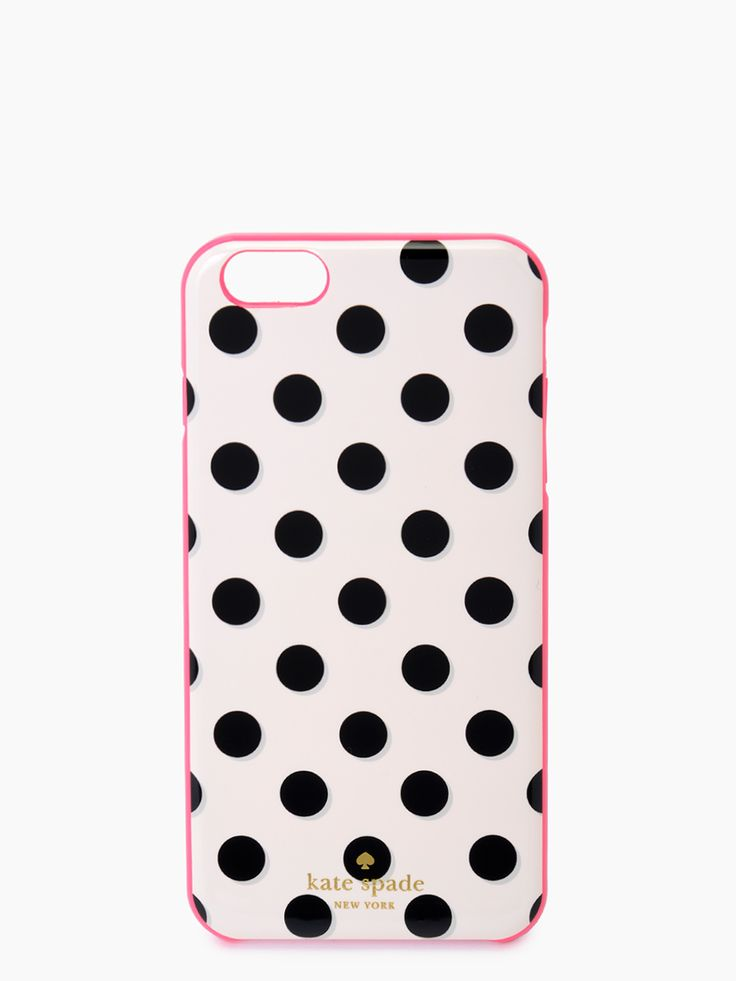 kate spade new york / resin iphone case 6 plus le pavillion 6 plus