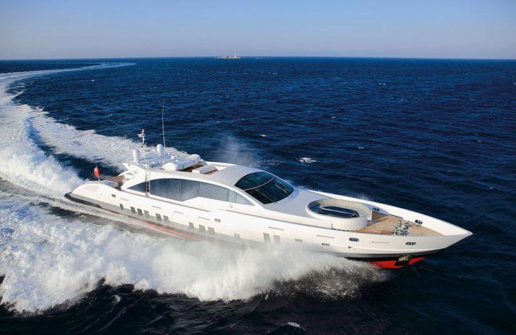 superyachts Doubleshot Yacht for sale, Luxury yachts, Boat