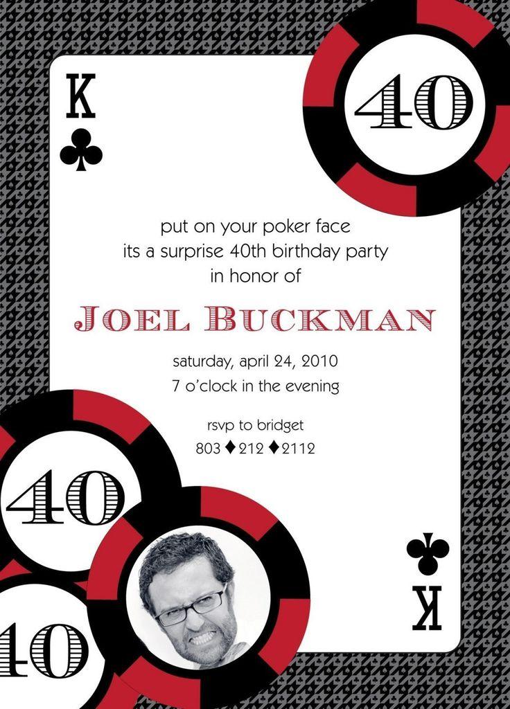 60 best Poker Night images on Pinterest | Casino party, Casino theme ...