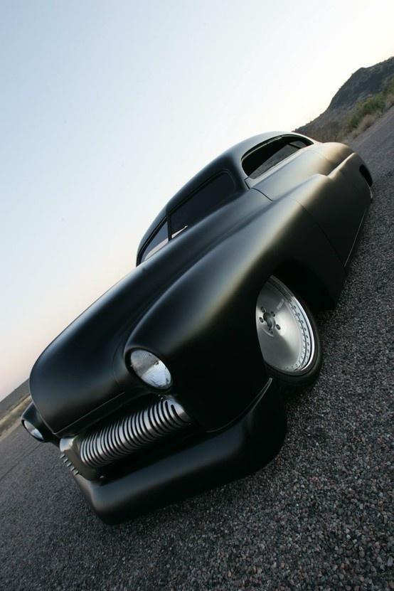 Drool.....: Sports Cars, Custom Cars, Riding, Matte Black, Hot Rods, Hotrods, Dreams Cars, Black Cars, Leaded Sled