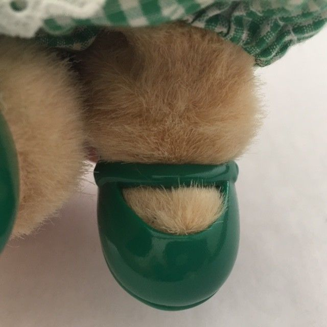 Muffy Vanderbear 1982 St Patricks Day in Dress Pants Shoes Plush Teddy Bear Vtg $15.99 | PicClick
