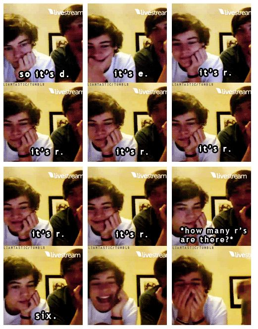#2) My favorite One Direction Moment was this twitcam. They are so young in the video. Harry is just adorable in it and Louis is as funny as always:).