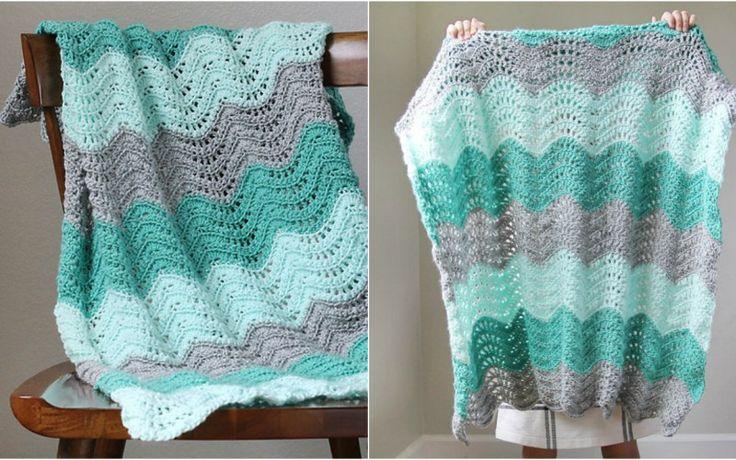 3152 mejores imágenes de Crocheted Baby/Child Afghans en Pinterest ...