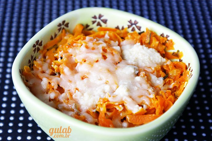 » Cenoura refogada com cream cheese - Gulab